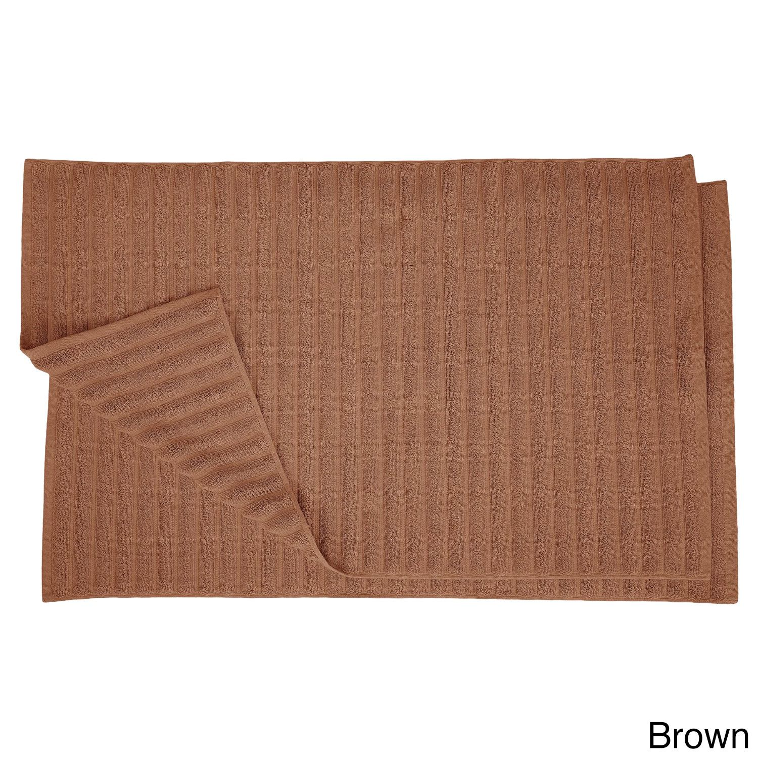 Superior Eco Friendly Cotton Soft And Absorbent Bath Mat (Set Of
