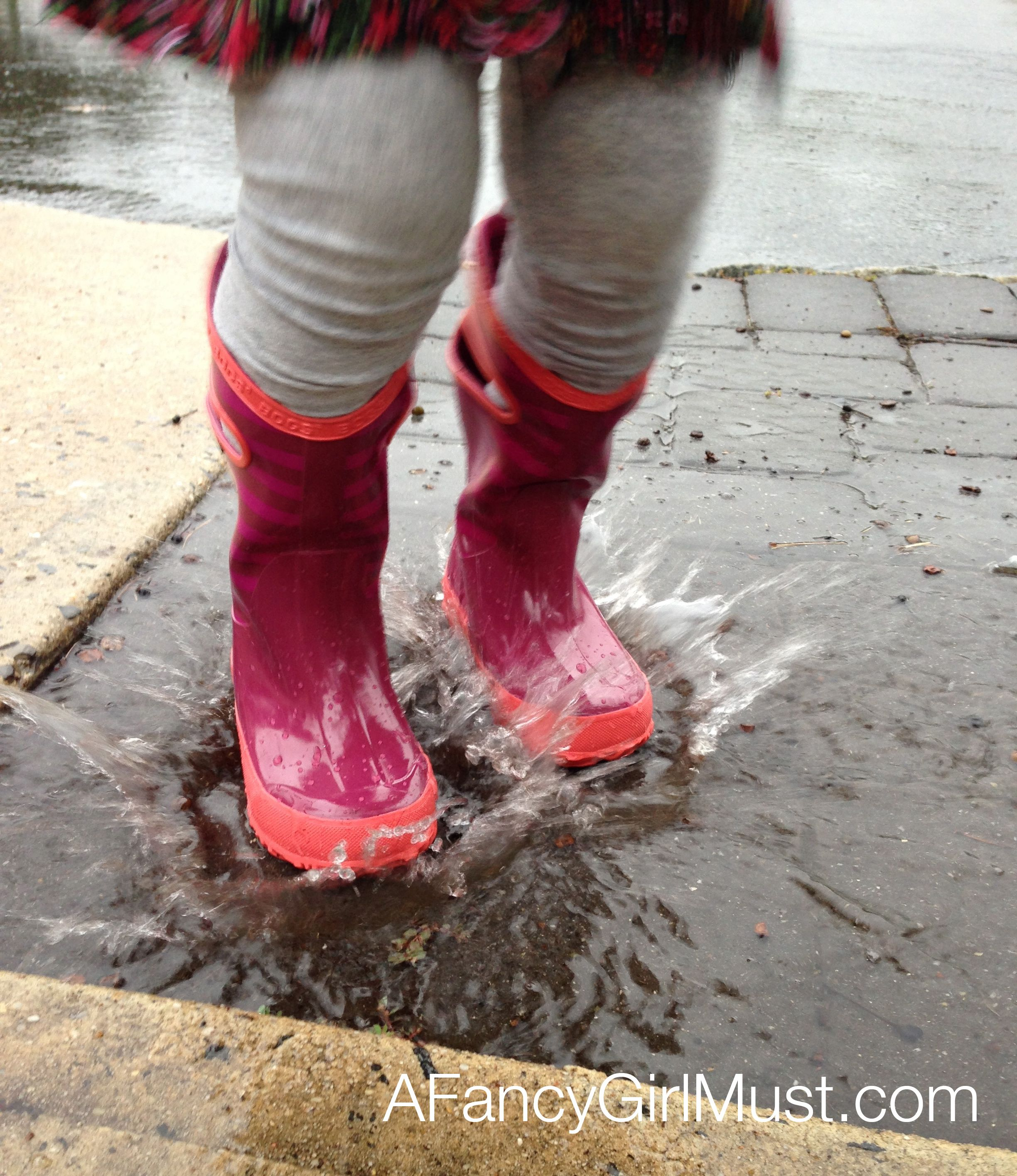 76bf264a963 Puddle Jumping: Bogs Rain Boots for Girls   AFancyGirlMust.com ...