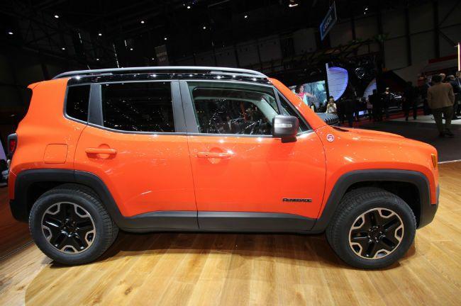 2016 Jeep Renegade Trailhawk Orange