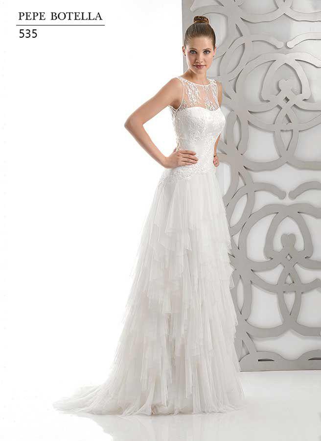 vestidos de novia de colecciones anteriores - entrenovias | bodas