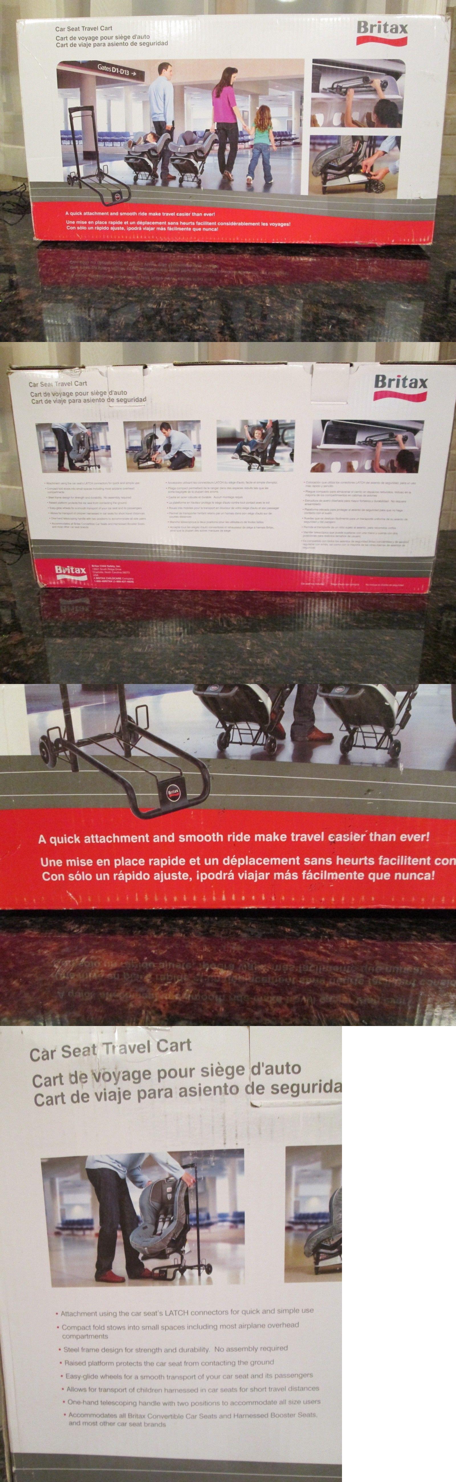 Car Seat Accessories 66693 Britax Travel Cart Brand New In Box