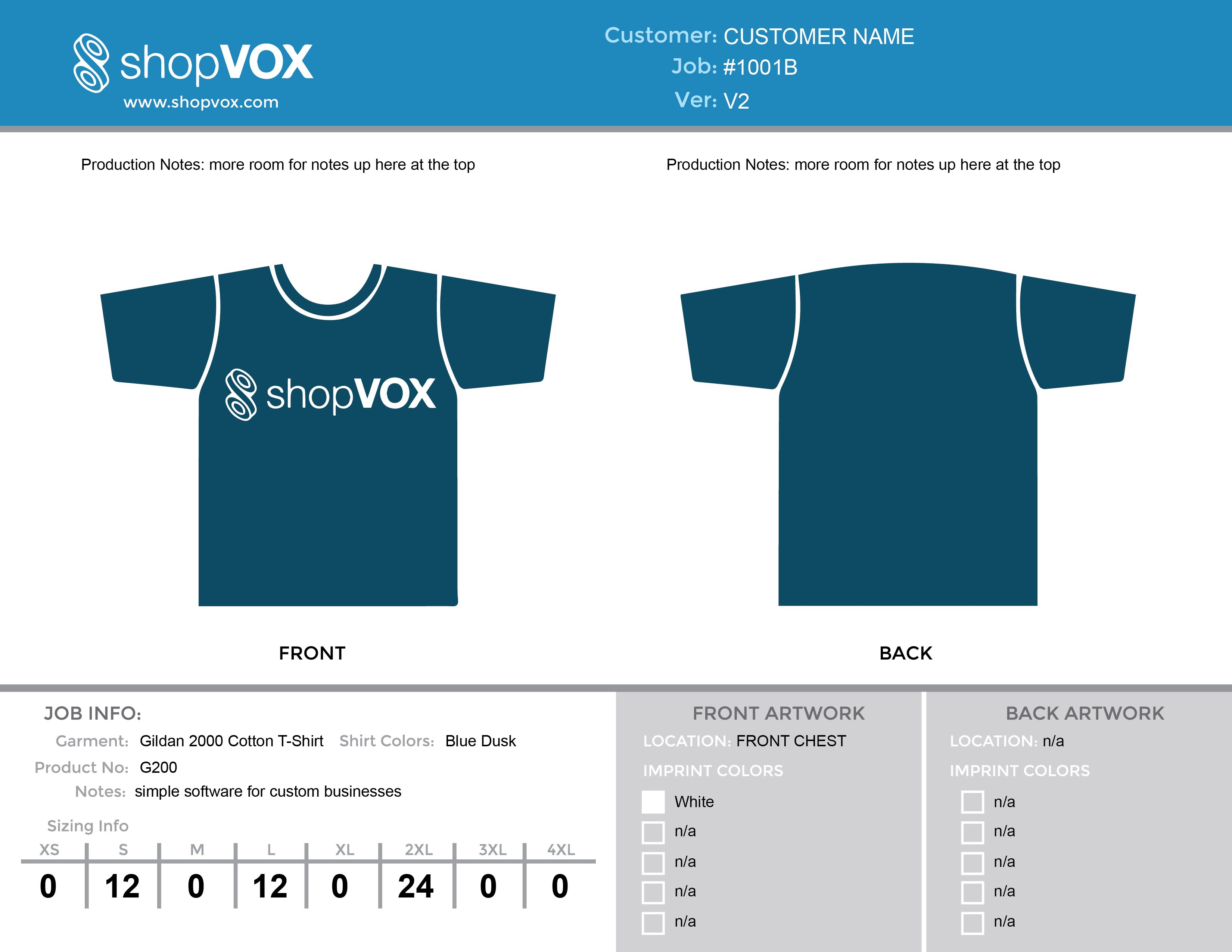 Design your t shirt software - Free T Shirt Proof Template