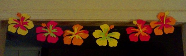 its a flower cut out.