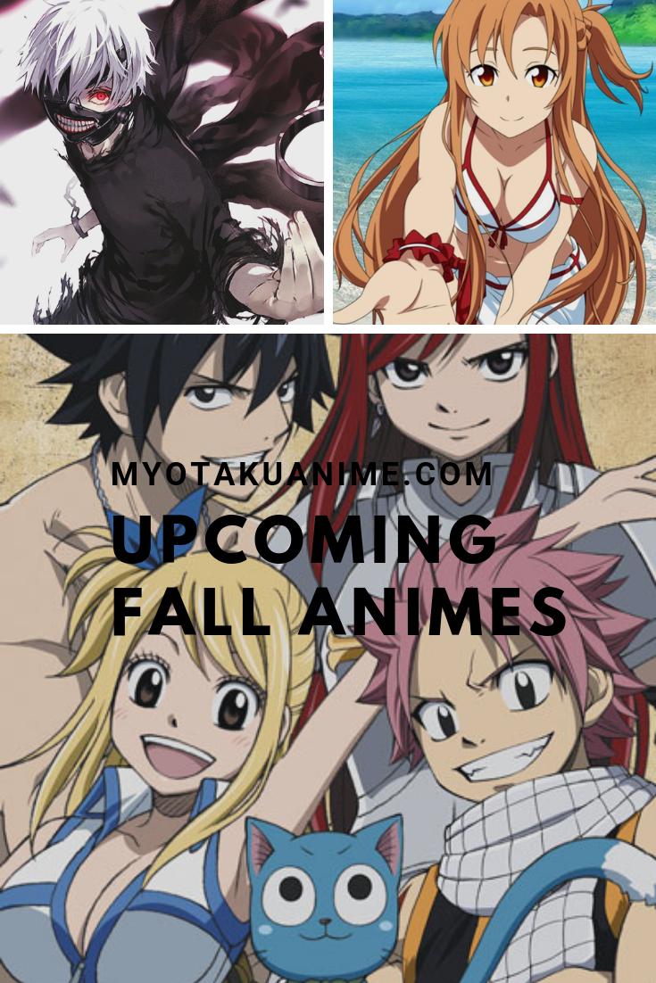 animes of fall 2018 Anime