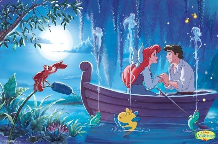 Ariel - Kiss The Girl Poster Print (34 x 22)