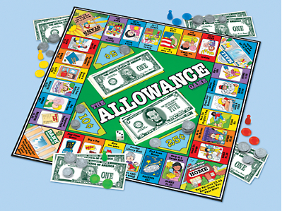 The Playful Otter: The Allowance Game