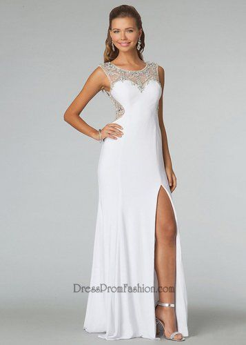 long white evening gown - Google Search | My Closet | Pinterest ...