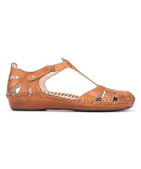 f489e811517 Pikolinos Brandy Vallarta Wide-Fit Leather Sandal