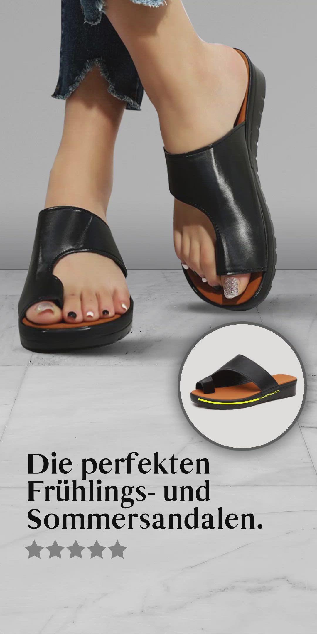 Photo of Die Joyce Sandalen kombinieren ein edles Design mit praktischer Funktionalität ….