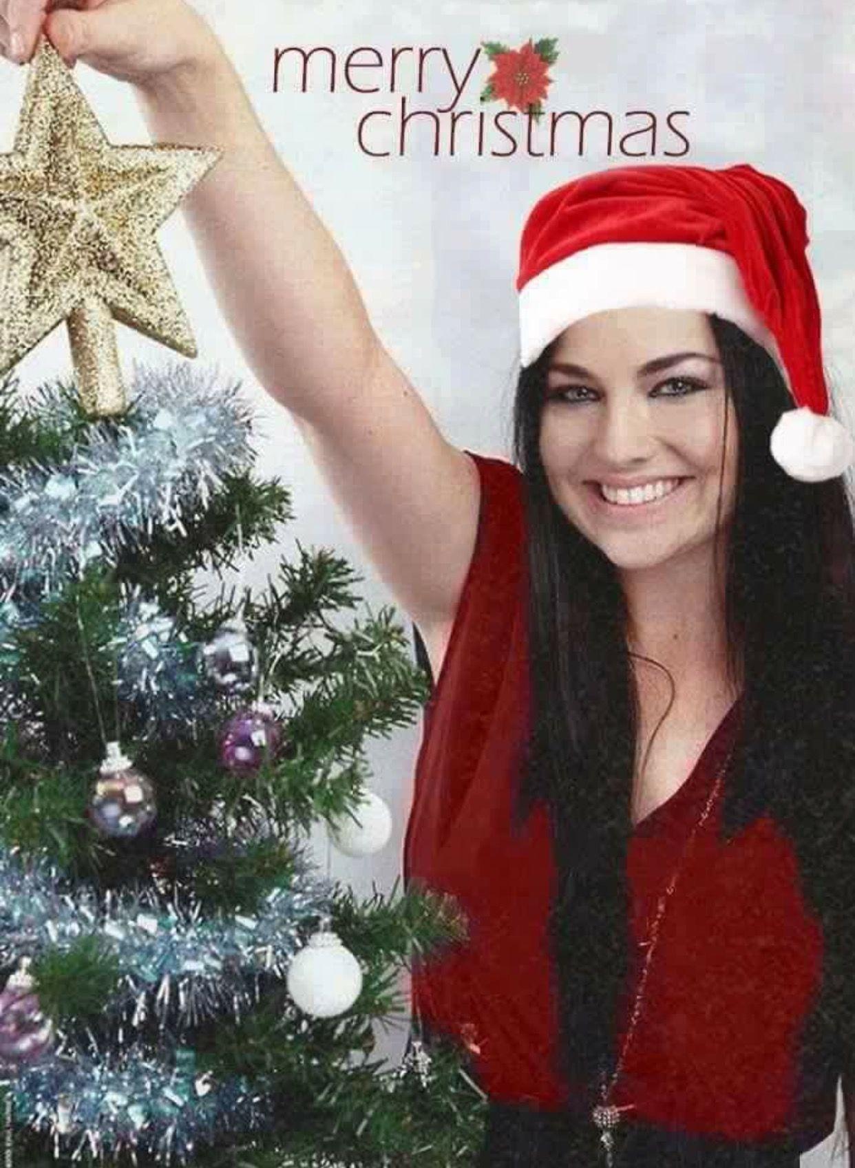 Amy Lee ~ Merry Christmas | Amy Lee/ Evanescence | Pinterest | Amy ...