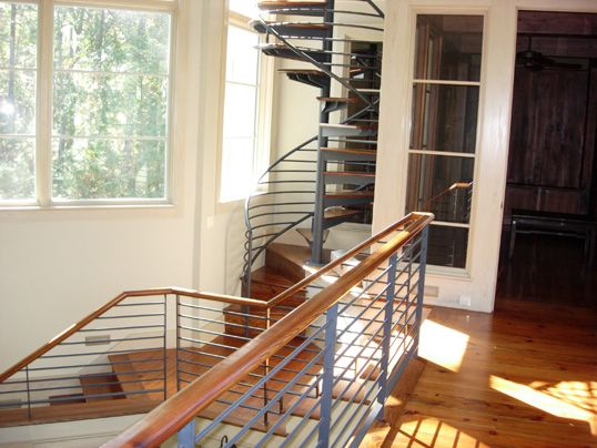Best Stainless Steel And Wood Spiral Staircase Stairs 640 x 480
