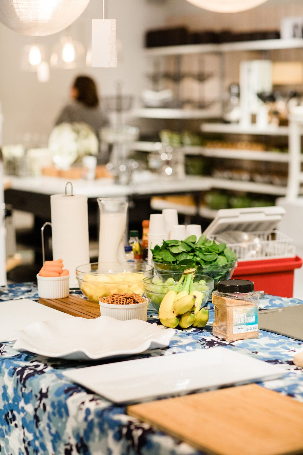 Wedding Registry Event with Crate and Barrel Bridal
