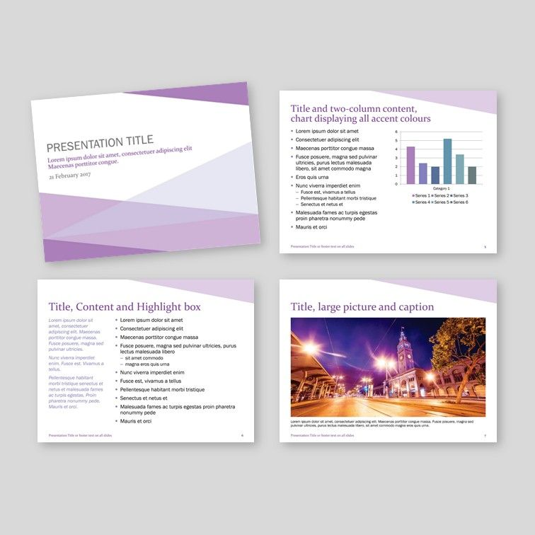 Corner Presentation Powerpoint presentation templates