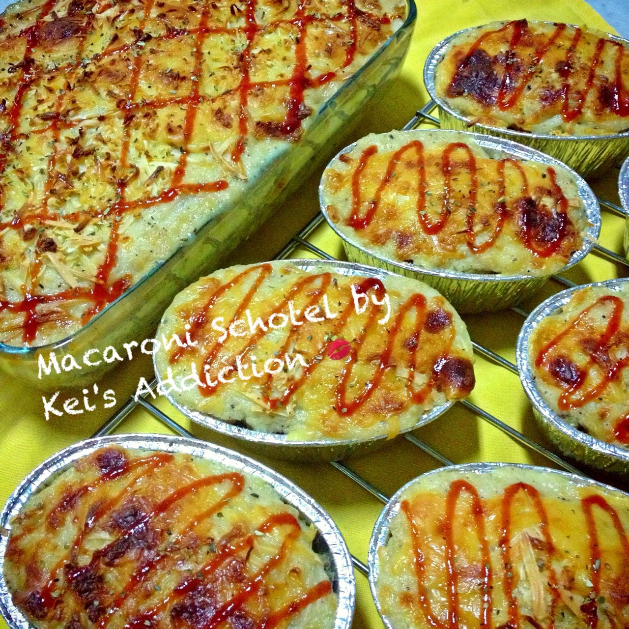 Macaroni beef schotel... Its perfect for breakfast, lunch or dinner....