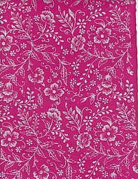 Lokta, Silver Flowers on Pink (dolphinpapers)