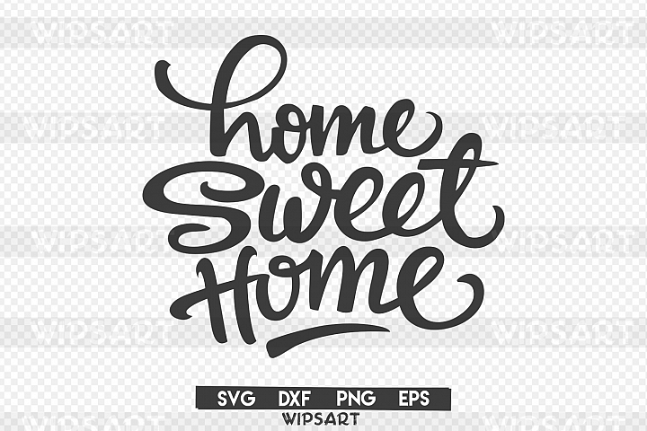 Sale Home Sweet Home Svg Home Sweet Home Silhouette Wipsart Crafters Printables Sweet Home Sale House Svg