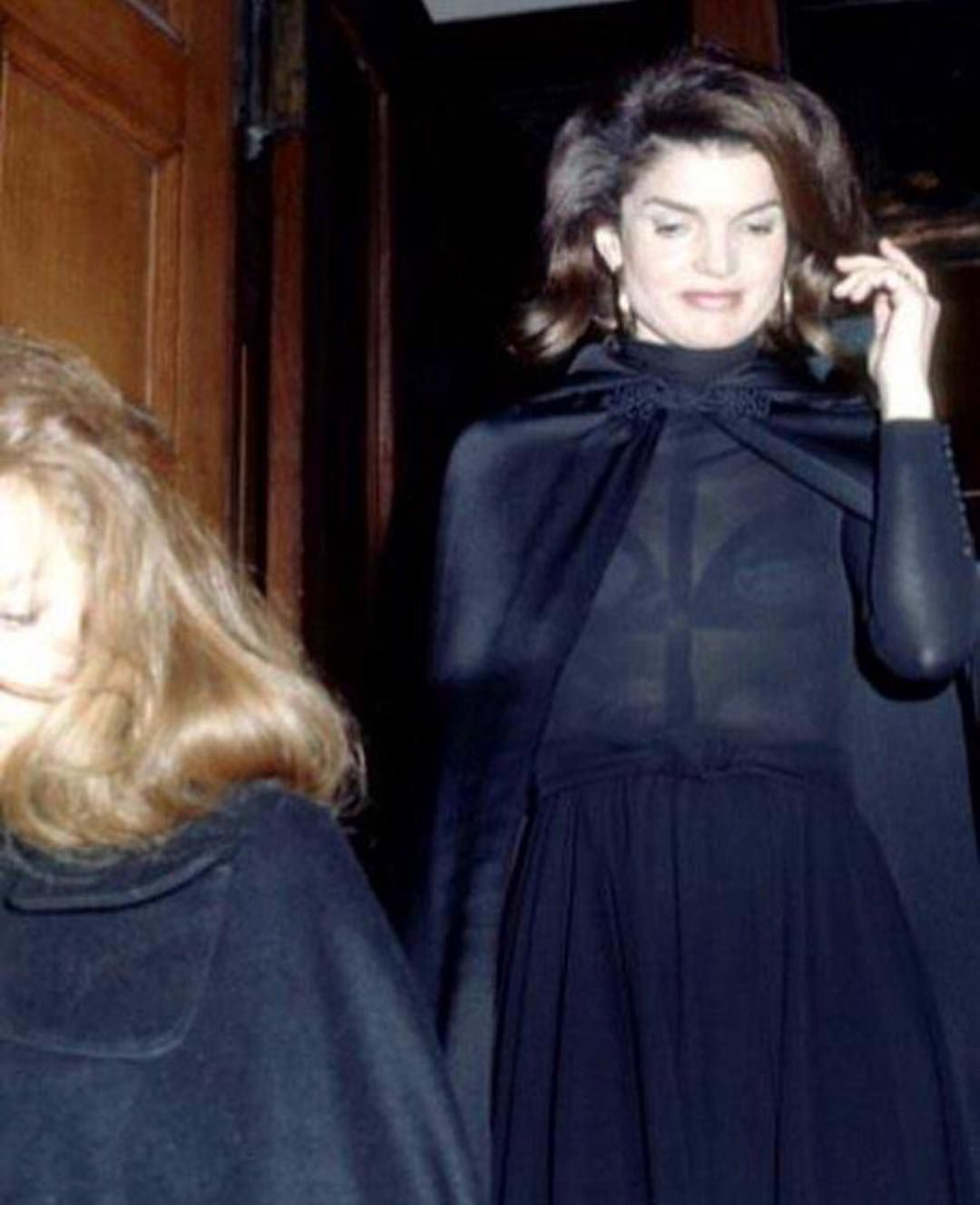 Jackie | Black Holy moment attire | Jackie kennedy style