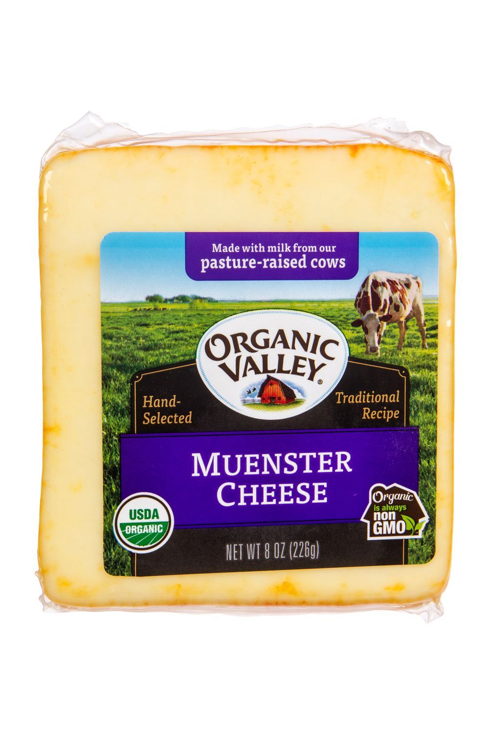 Organic Valley Muenster Cheese Organic In 2020 Organic Valley Muenster Cheese Organic Recipes