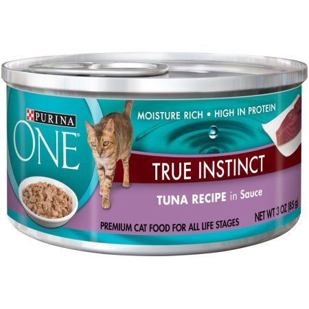 Purina ONE True Instinct Tuna Recipe in Sauce Cat Food