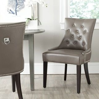Safavieh   Safavieh Harlow Clay Ring Chair (Set Of   The Stylish Harlow  Ring Chair By Safavieh Transforms Any Dining Room With Instant Glamour.