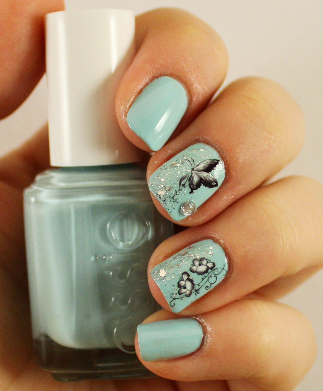 Goodly Nails: Mint Candy Apple