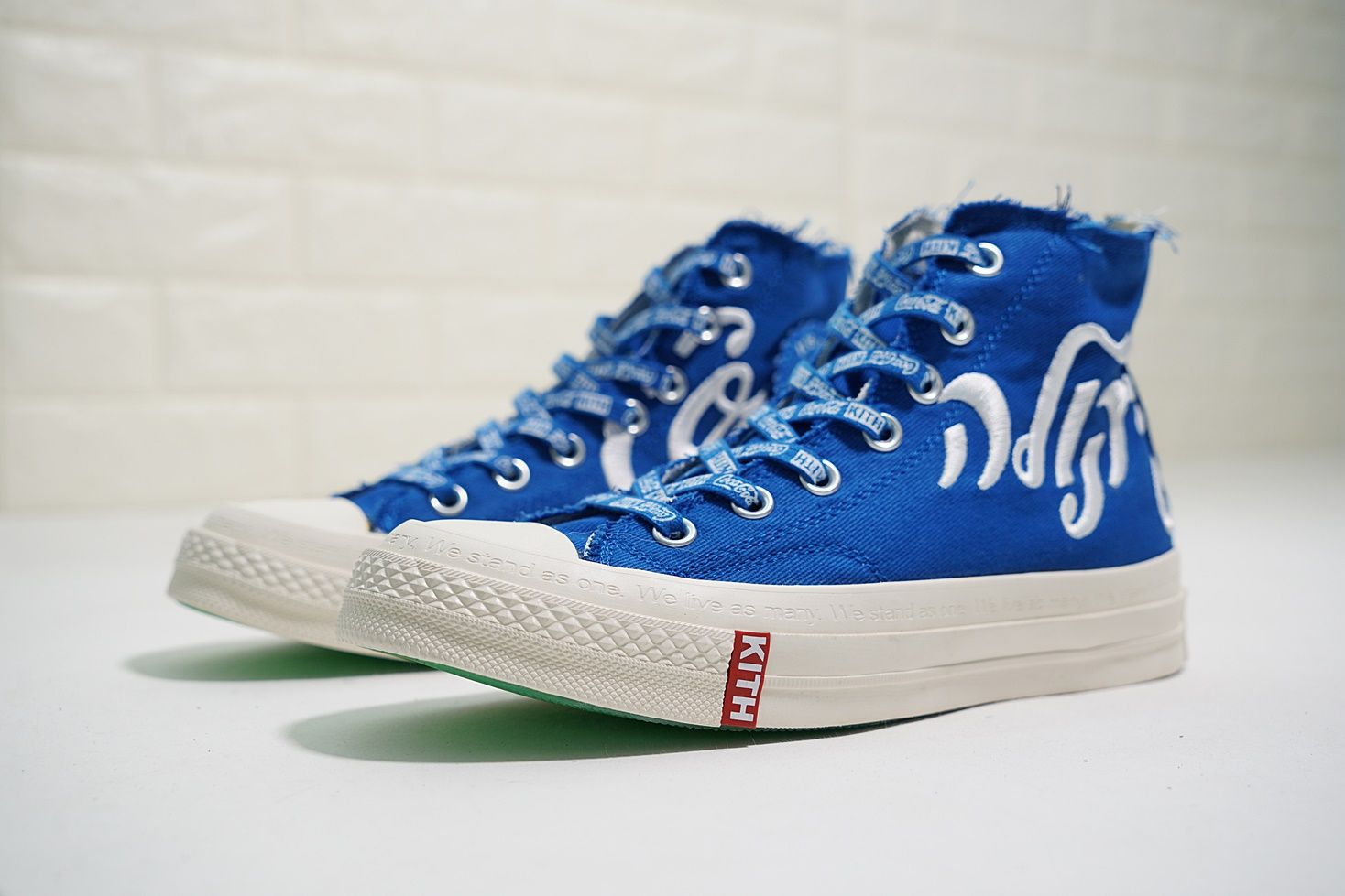 794aeacbf1d KITH X COCA COLA CONVERSE CHUCK TAYLOR ALL STAR ROYAL BLUE 162987C ...