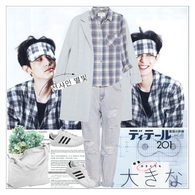 """당신은 대단해요."" by alienbabs ❤ liked on Polyvore"