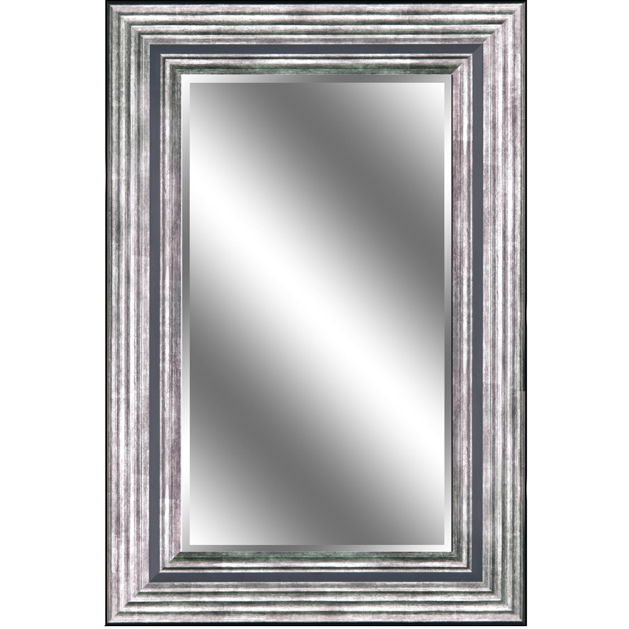 Y-Decor \'reflection\' 24 x 36 x 1-inch Bevel Mirror with 5-inch ...