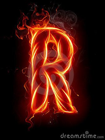 Burning R Picture Letters Free Stock Photos Image Alphabet Wallpaper