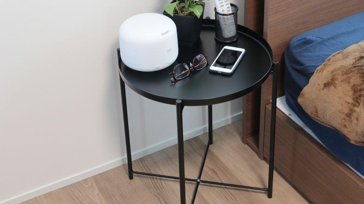 イケアやるな2000円以下だから各部屋に置けちゃうサイドテーブルかなり助かるよマイ定番スタイル インテリア 収納 サイドテーブル Ikea サイドテーブル