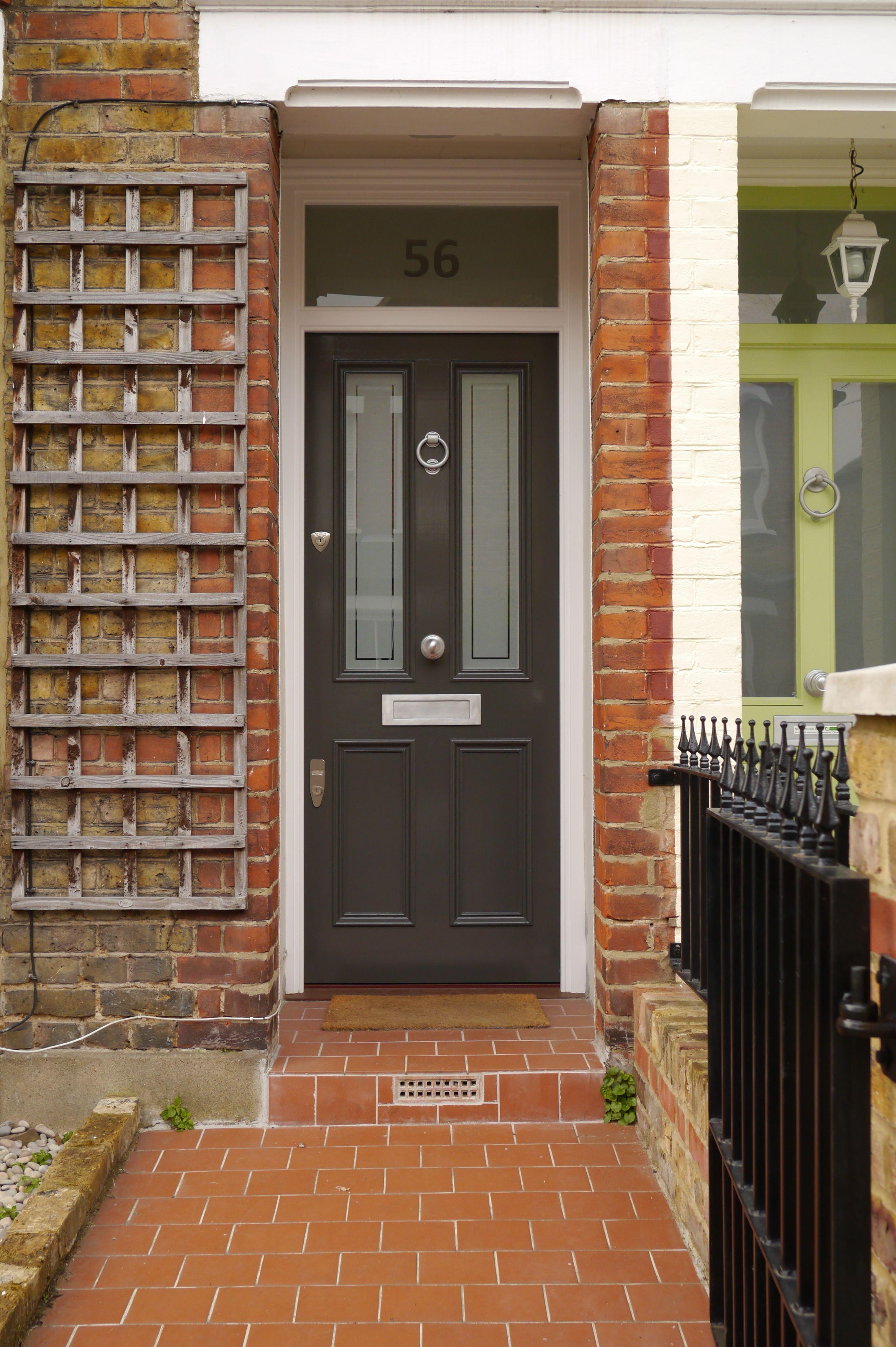 The London Door Company - Front Door Richmond, Surrey - LDC Dark ...