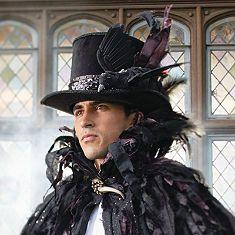 Herren Victorian Steampunk Schwarzer Top Hat PU Leder Gothic Halloween