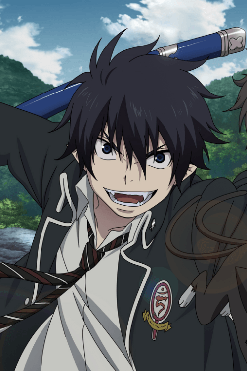 Who Are The Most Handsome Anime Male Characters Quora Blue Exorcist Anime Blue Anime Blue Exorcist Rin