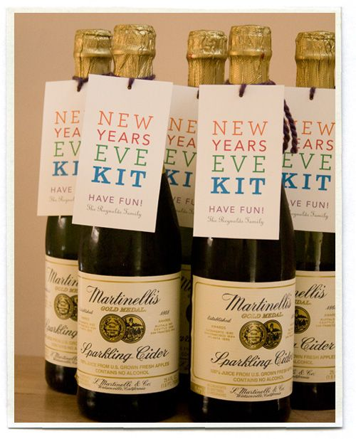 New Years Eve Kit - I just found mini bottles of these at ...