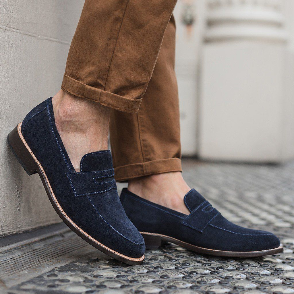 Lincoln Midnight Suede Black Shoes Men Casual Dress Shoes Men Black Shoes Men