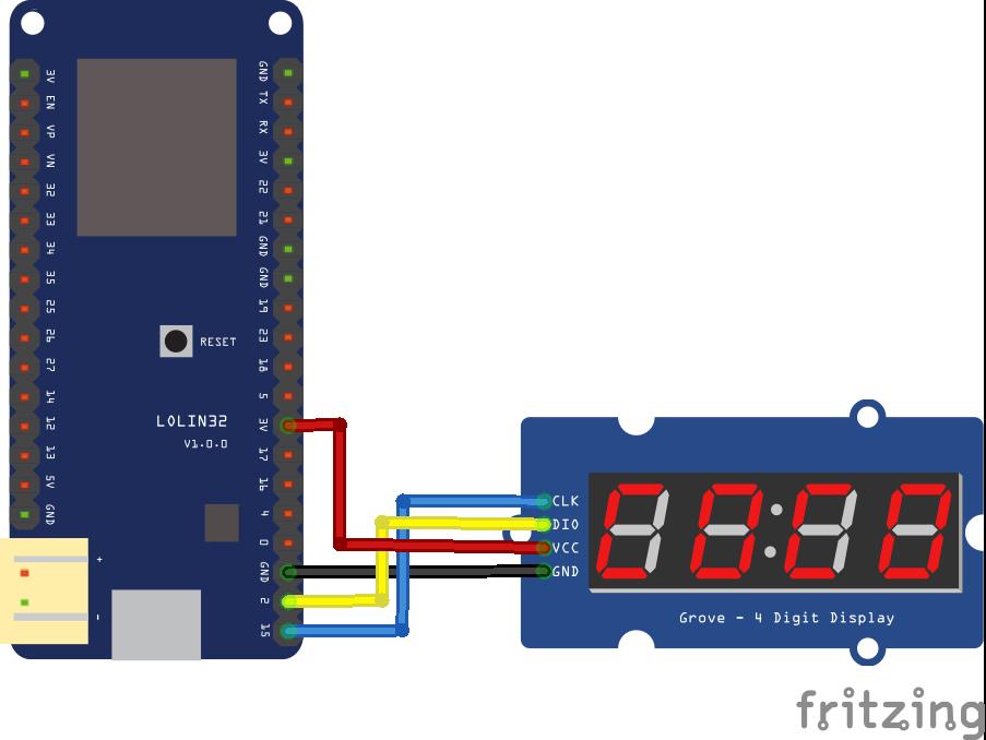 ESP32 and TM1637 7 segment display example | 2 | Display, Arduino