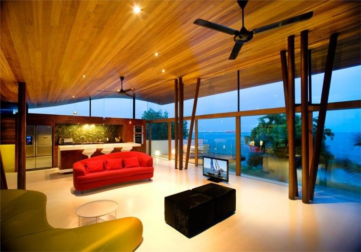 A Modern Tranquil Bungalow In Tropical Singapore By Guz Architects ...