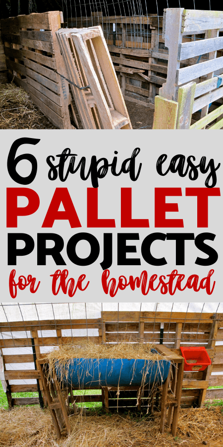 6 Easy Pallet Projects for the Homestead