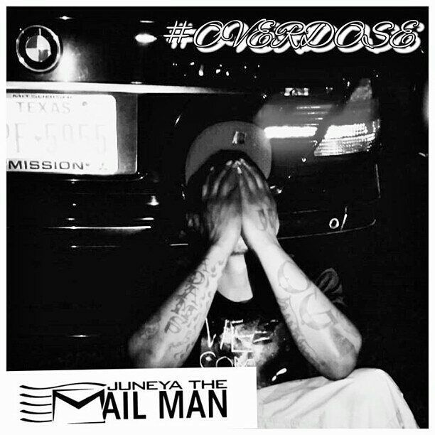 @Regrann from @juneyathemailman -  MAKE SURE U CHECK OUT #OVERDOSE BU JUNEYA THE MAILMAN IN HIS NEE ALBUM #POSTAL ITS AVAILABLE ON ITUNES AMAZON GOOGLEPLAY AND SPOTIFY #STRIVE #GREATNESS #INSPIRE#MMV #BIGLIFE - #regrann
