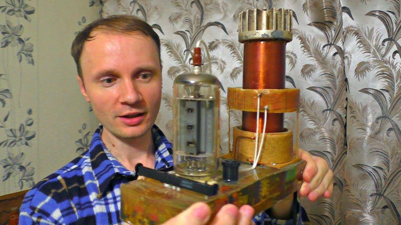 На что способна энергия Теслы ⚡💥 Беспроводная передача ...