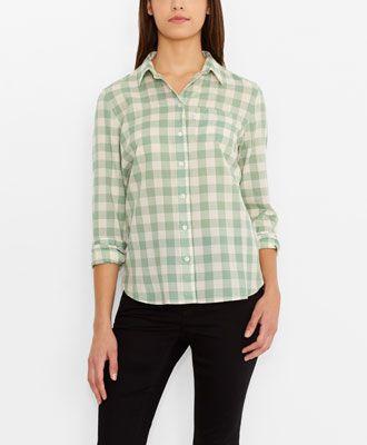 Levi's Classic One Pocket - Mission Buffalo Plaid - Shirts & Blouses
