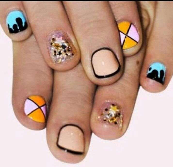 Short nails for the natural girls!!!