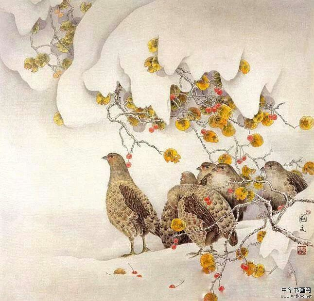 Painting the world by Bai Guowen.