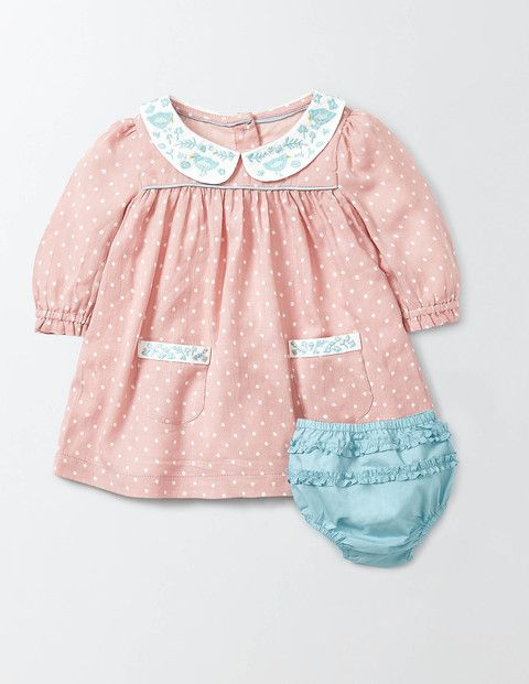 e6c989015 Embroidered Collar Dress Baby Mini Boden, size 12-18m | My Boden ...