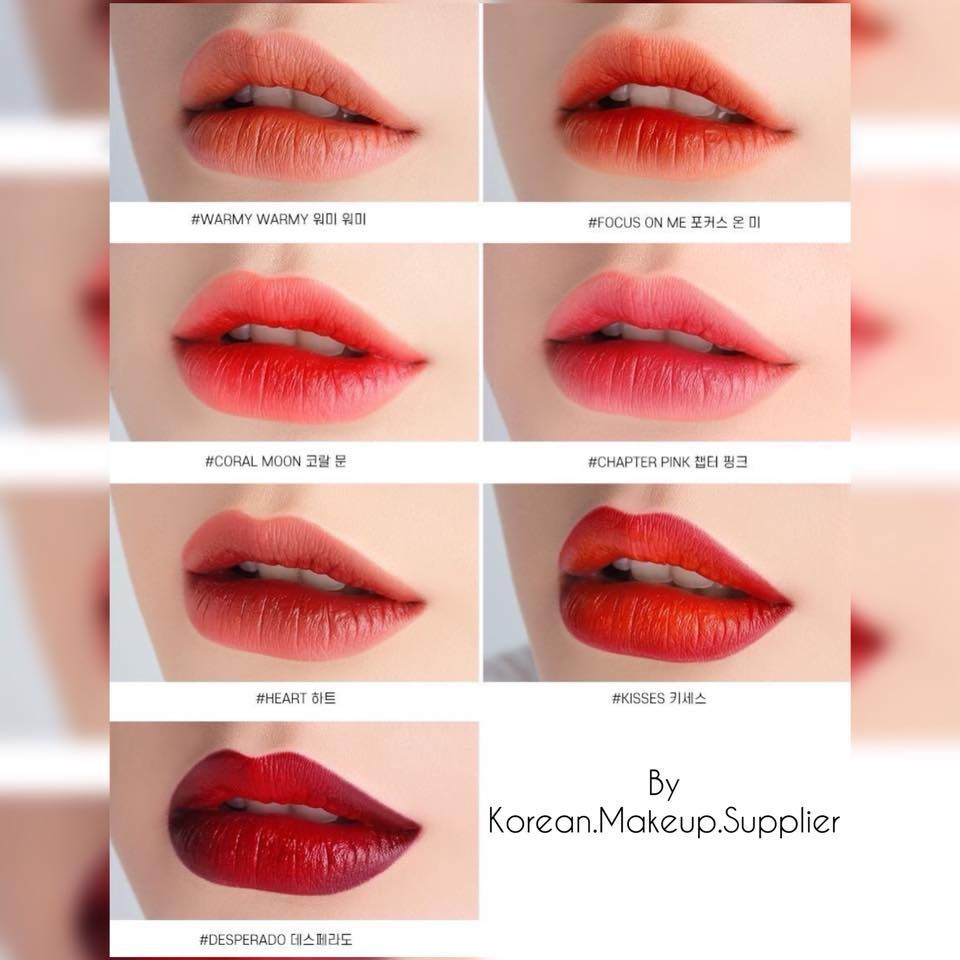 Sassy Red Ombre Lips Beautyhacksmakeup Ombre Lips Lip Colors