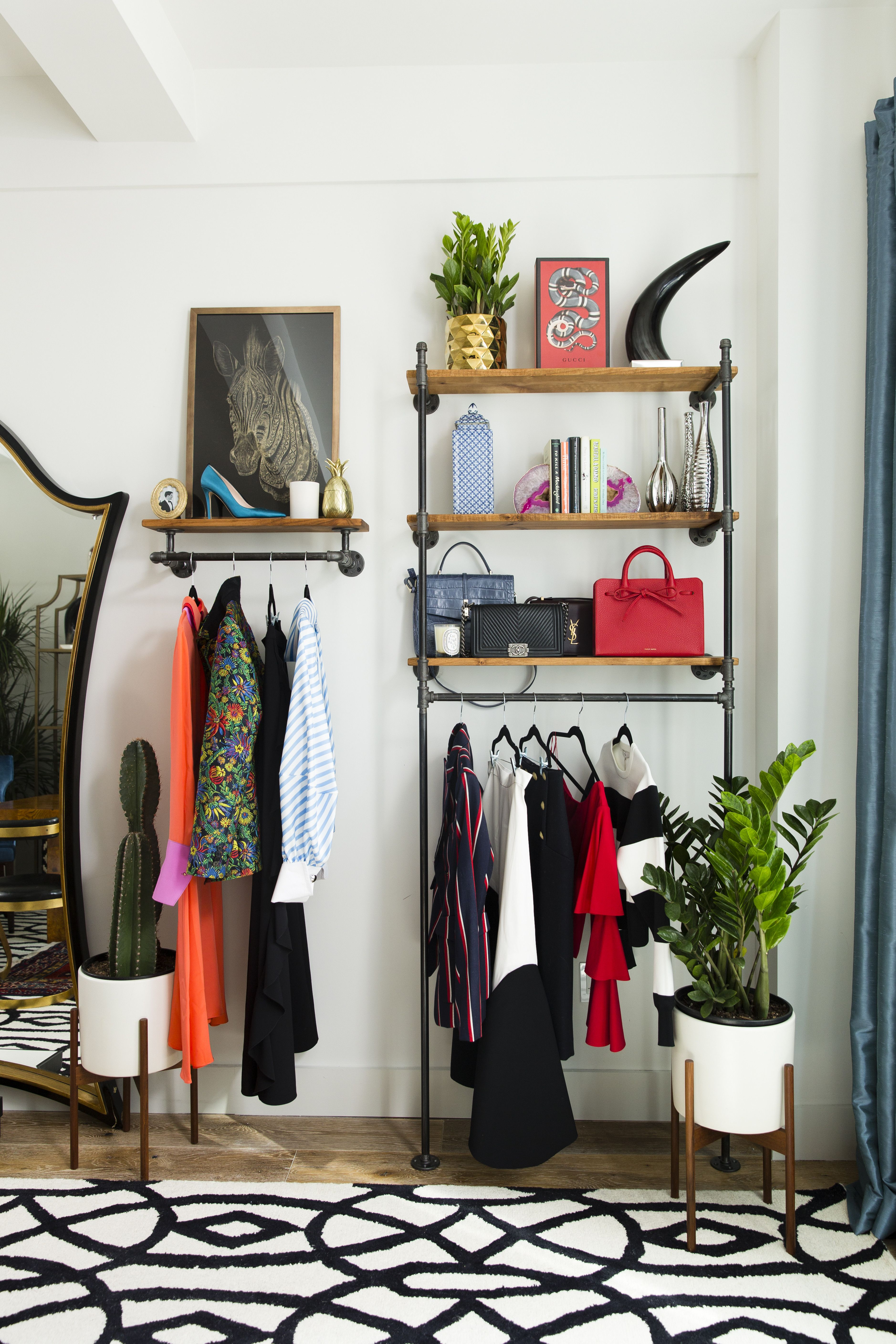 office storage ideas small spaces. Inside A Fashion Blogger\u0027s Eclectic Home Office. Small Space Office Storage Ideas Spaces V