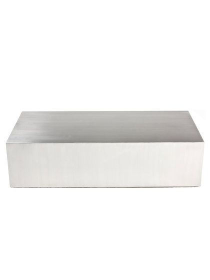 Cubix Brushed Steel Coffee Table By Pangea Home At Gilt $1,350 $579