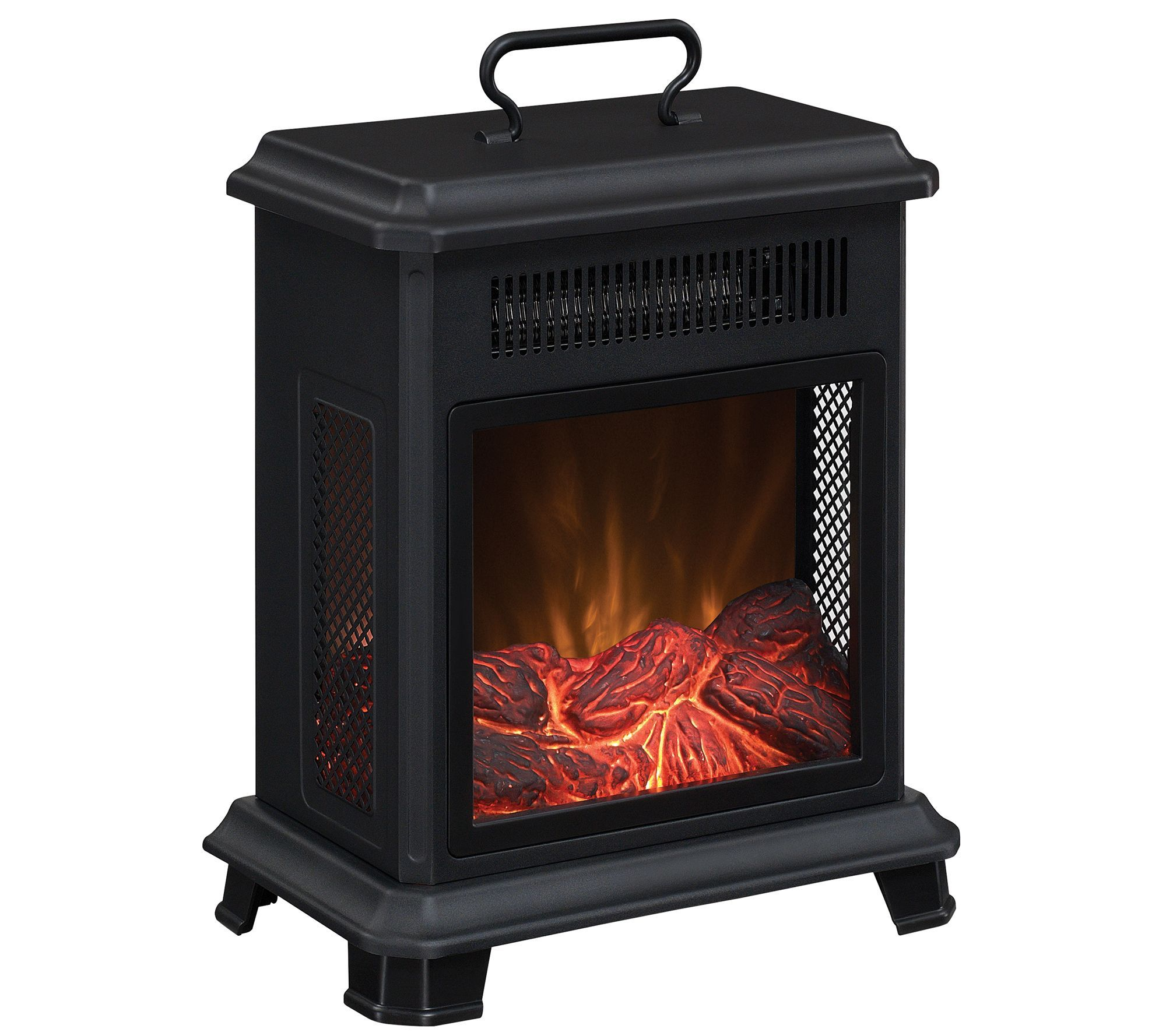 Duraflame Portable Stove Heater with Adjustable Thermostat