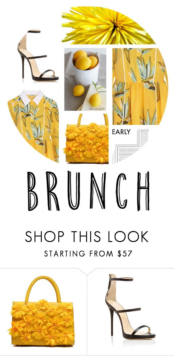 """""""brunch"""" by tobash21 ❤ liked on Polyvore featuring Giuseppe Zanotti and Fendi"""