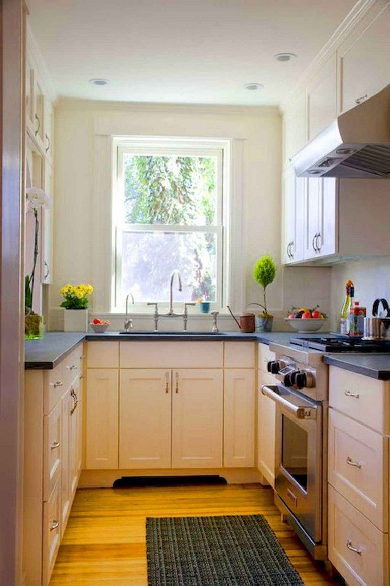 125 Lovely Small Kitchen Design Ideas And Remodel To Inspire Your Kitchen Beautiful Page 10 Kitchen Design Small Galley Kitchen Design Simple Kitchen Design